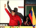 Hugo Chavez, président vénézuélien.