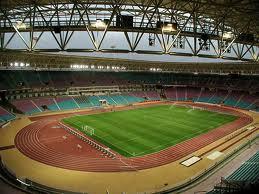 Le Stade Olympique de Radès, dans la banlieu sud de la capitale Tunis