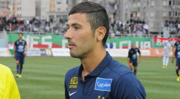 Antar Yahia, défenseur axial de l'Espérance Sportive de Tunis