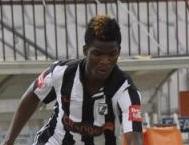 Ibrahim Ndong, joueur gabonais du Club Sportif Sfaxien
