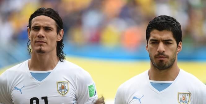 Uruguay: Accrochage entre Cavani et Suarez en sélection (Vidéo)