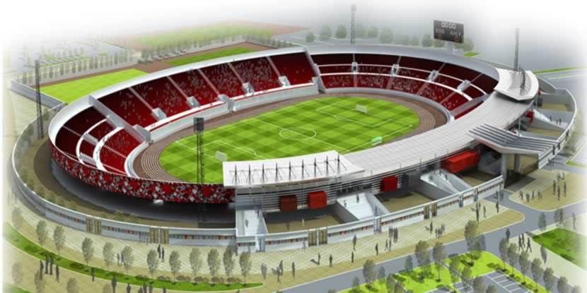 Sousse stade olympique de sousse extension stadium for Porte 8 stade rades
