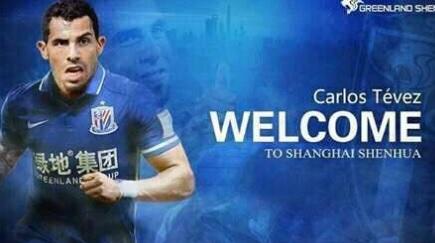 Officiel : Carlos Tévez signe au Shanghai Shenhua