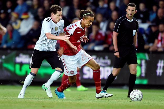 Danemark-Allemagne 1-1, Trapp et la Mannschaft tenus en échec