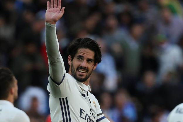 Isco confirme la tendance — Real