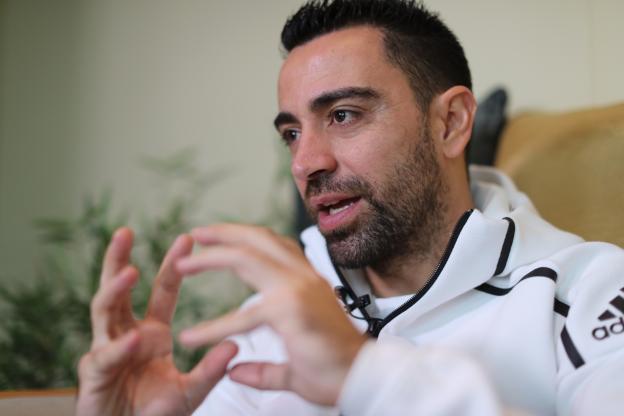 Xavi vise la sélection qatarienne
