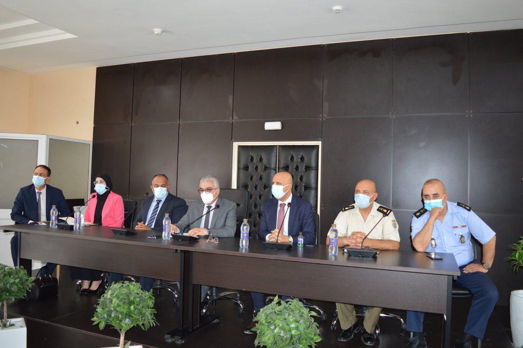 Réunion de la Commission régionale de lutte contre les catastrophes, ce mardi 06 juillet à Ben Arous.